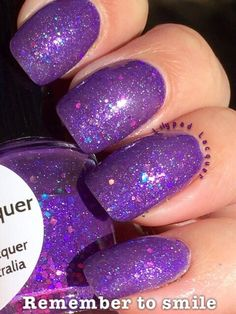 Lilypad Lacquer Remember to Smile from the Positive Affirmations Collection (Llarowe exclusive collex for July 2014). Bought in July 2014