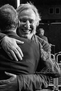 Alan Rickman & Ralph Fiennes The Invisible Woman Kensington, London UK 2014 Paul Bird
