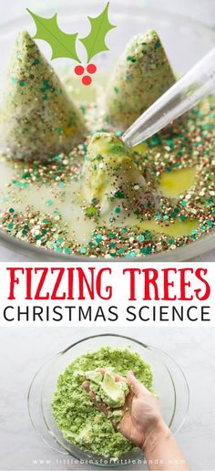 Set up a fizzing, melting Christmas tree baking soda science activity for holiday science and sensory play! Easy Baking soda science and chemistry for kids! Such a fun science experiment for kids! Preschool Christmas, Toddler Christmas, Christmas Crafts For Kids, Christmas Baking, Christmas Fun, Holiday Fun, Holiday Ideas, Frugal Christmas, Xmas