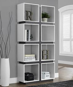 Another great find on #zulily! White Cube Bookcase #zulilyfinds