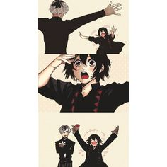 Tokyo Ghoul ❤ liked on Polyvore featuring anime