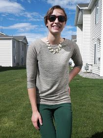 Elizabeth Ave: Raglan Shirt Tutorial