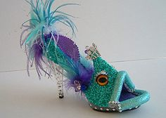 Fish shoe - would be great for mardi gras