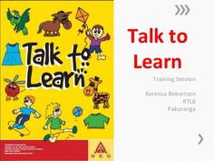 Talk to Learn Training Session Kerensa Robertson RTLB Pakuranga
