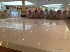 Starlight dance floor at orsett hall