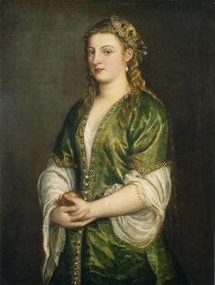 Portrait of a Lady by Titian - 1555 National Gallery of Art - D.C.