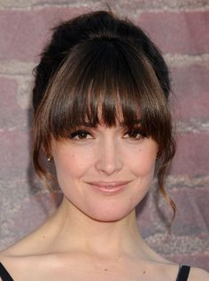 Rose Byrne bangs