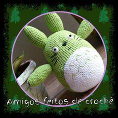 To xonada por ele. Totoro. #amigurumi #totoro