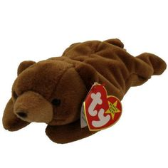 7ca2c3924b8 Ty Vintage Beanie Baby - Retired - Cubbie Bear - 4th Generation - 1993 -  Mint