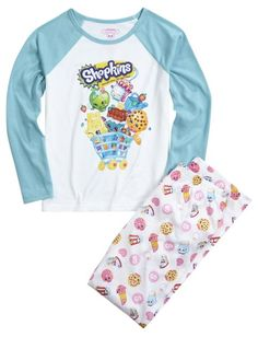 Shopkins Pajama Set