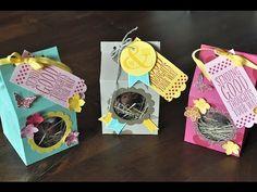 Verpackungs-Tutorial: Milchtüte für ein Schokotier mit Produkten von Stampin' Up! - YouTube