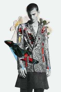 "Modeconnect.com - ""Inflorescence"" by freelance fashion designer and illustrator Meric Canatan and photographer Olgaç Bozalp"