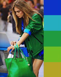 COLORI da ABBINARE al VERDE: tutte le possibilità per look originali! Colour Combinations Fashion, Color Combinations For Clothes, Fashion Colours, Colorful Fashion, Color Combos, Color Blocking Outfits, Colourful Outfits, Cool Outfits, Casual Outfits