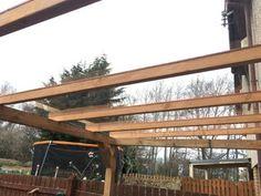 Transparent Roof Pergola on a Budget. : 16 Steps (with Pictures) - Instructables Pergola On The Roof, Pergola Cost, Pergola Carport, Curved Pergola, Modern Pergola, Pergola Attached To House, Pergola Swing, Metal Pergola, Cheap Pergola