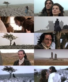 Misery and degradation and death and nothing that God or Satan could inflict would have parted us, you of your own will, did it. I have not broken your heart - you have broken it; and in breaking it, you have broken mine.  Wuthering Heights [1992]