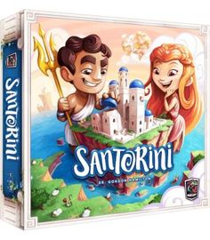 Build like a mortal, win like a God in the game of Santorini, the strategic family board game by Gordon Hamilton. The objective is simple: Be the first player t Board Games For Couples, Family Board Games, Fun Board Games, Couple Games, Fun Games, Games To Play, Playing Games, Santorini, Tarot