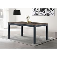 Heritage Dining Table Dimensions: 31 inches high x 65 inches wide x 36 inches deep $359