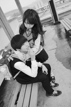 ulzzang couple - Google Search