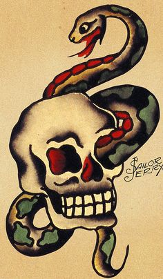 Sailor Jerry 55 by FAMILIAR STRANGERS Tattoo Studio - Singapore, via Flickr