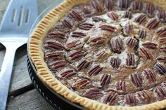 Southern Pecan Pie & A Surprise For Amber - from @Kate ~ FoodBabbles.com