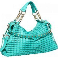 Big Buddha Handbag Abigail in Turq NEW!!!