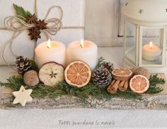 Deko weihnachten advent Christmas packaging, country-style decorations with little . Noel Christmas, Christmas Wrapping, Country Christmas, Christmas Wreaths, Christmas Crafts, Christmas Ornaments, English Christmas, Magical Christmas, Elegant Christmas