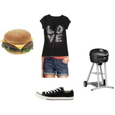 """""""Family BBQ"""" by blackjay on Polyvore"""