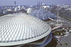 world's fair 1964 | 1964 World's Fair, Flushing Meadows, New York. General Electric ...