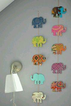Les petits éléphants roses