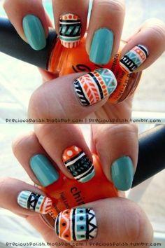 Nail It: 101 Seriously Amazing Nail Art Ideas FromPinterest | Beauty High