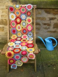 Japanese Flower scarf by holly