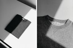 Cereal Magazine put together this beautiful set of images for Sunspel, part of their latest issue, volume 6. Photographer Rich Stapleton shoots the clean, black and white still-life story featuring some of Sunspel's classic tees and shirts, the publication and label sharing a love of all things simple and unfussy reflected in the editorial.
