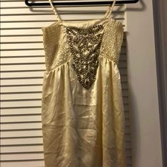 Silk studded dress/top Could be short dress or long top Dresses