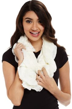 Circle of Life Ruffle Infinity Scarf only $7.99