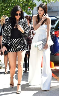 Kylie & Kendall Jenner from The Big Picture: Today's Hot Pics Before the premiere of I Am Cait, Caitlyn Jenner's kids step out at the Pantages Theatre in Hollywood.