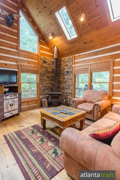 Blue Ridge Cabin Review: Raccoon Lodge Cabin near Fort Mountain