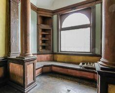 The abandoned Beckett house interior