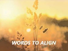 Abraham Hicks - Words to Align