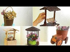 This is a creative DIY channel. I will show how to make original gifts and crafts with their own hands from different mate. Popsicle Stick Houses, Popsicle Crafts, Craft Stick Crafts, Paper Crafts, Art Activities For Kids, Art For Kids, Diy Arts And Crafts, Crafts To Make, Tea Cup Art