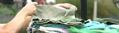 Don't want to throw clothes away, but don't have the time to sort and donate you clothes?Textiles can be dropped off weekly at one of 26 Greenmarkets located all over NYC! Textiles are sorted into different grades including usable clothing, cotton scrap, cotton blend scrap and synthetics.