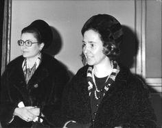 Princess Grace of Monaco + Queen Fabiola of Belgium c 1966