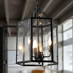 MAX 40W Traditional/Classic / Vintage / Retro / Lantern / Country Mini Style Painting Metal Pendant LightsLiving Room / Bedroom / Dining 2016 – $277.99