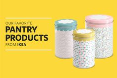 PANTRY ITEMS FROM IKEA