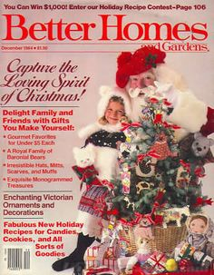 Better Homes And Gardens Magazine December 1984 Back Issues, Past Issues  And Used Magazines