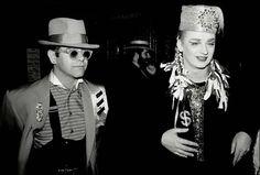 Elton John & Boy George