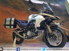 2016 Auto Expo: Benelli TRK 502 Adventure Tourer Makes India Debut   #AutoExpo2016 #Benelli