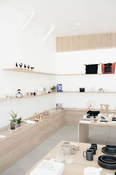 Yes - Minimalist home goods and decor store