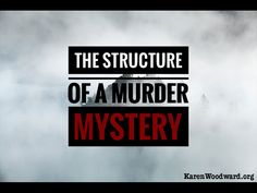 The Structure of a Murder Mystery | Ever wanted to write a murder mystery? Successful mystery writer Elizabeth S. Craig talks about how she does it.