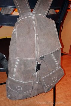 Backpack, retro plecak,  :D