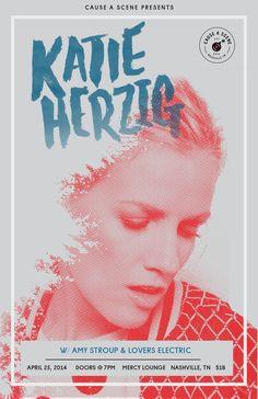 2014 / Katie Herzig — JDSN— Nashville based graphic designer for big brands and great bands